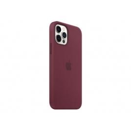 Funda iPhone 12 / 12 PRO Apple Silicona Plum MagSafe