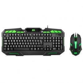 Teclado + Mouse BG Gaming Ranger Force Black
