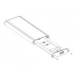 Carcasa Disco Duro SSD M.2 Nvme Conceptronic USB-C 3.1 Black