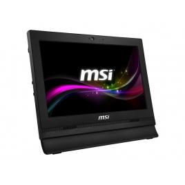 """Ordenador ALL IN ONE Msi PRO 16T CEL N3865U 4GB 500GB 15.6"""" HD Tactil Freedos Black"""