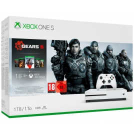 Consola Xbox ONE S 1TB White + Gears OF WAR 5