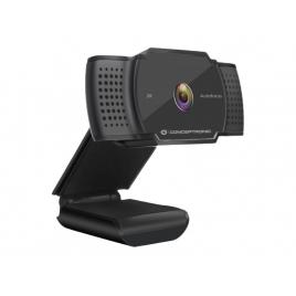 Webcam Conceptronic Amdis HD 2K Black