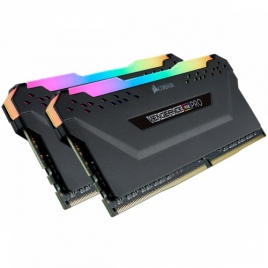 DDR4 16GB BUS 2666 Corsair Vengeance RGB PRO Black KIT 2X8GB