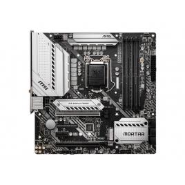 Placa Base Msi Intel Gaming B460M Mortar Socket 1200 Matx Grafica DDR4 Sata6 Glan USB 3.2 WIFI