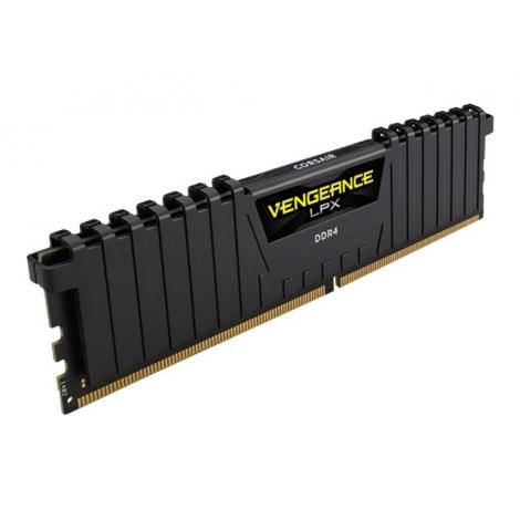 DDR4 8GB BUS 2666 Corsair Vengeance LPX Black