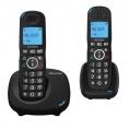 Telefono Inalambrico Alcatel XL535 DUO Call Block Black