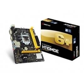 Placa Base Biostar Intel H110mde Socket 1151 Matx Grafica DDR4 Glan USB 3.1
