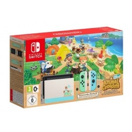 Consola Nintendo Switch Animal Crossing + Animal Crossing NEW Horinzons
