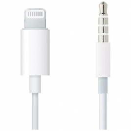 Cable Apple Lightning a Jack 3.5MM Macho 1M White