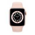 Apple Watch Serie 6 GPS + 4G 40MM Gold Aluminium + Correa Sport Pink Sand