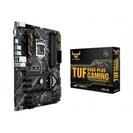 Placa Base Asus Intel TUF B360-PLUS Gaming 1151 ATX Grafica DDR4 Glan USB 3.1