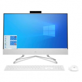 "Ordenador ALL IN ONE HP 24-DF0011NS Ryzen 5 3500U 8GB 512GB SSD 23.8"" FHD W10 White"