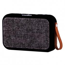 Altavoz Bluetooth Coolbox Coolsoul Black