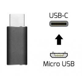 Adaptador Kablex Micro USB B Hembra / USB-C Macho