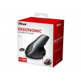 Mouse Trust Vertical Varo Wireless Ergonomic Black