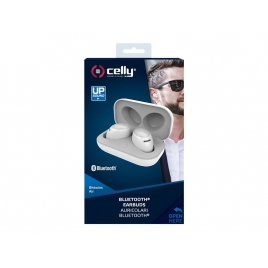 Auricular + MIC Celly Bluetooth Earbuds White