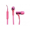 Auricular + MIC Celly Intrauditivo Pink