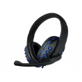 Auricular + MIC Deep Gaming Deep Blue G2 Black