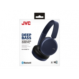 Auricular + MIC JVC Bluetooth HA-S35BT Blue