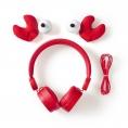 Auricular Nedis Animaticks Crab Magnetico red