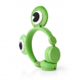 Auricular Nedis Animaticks Frog Magnetico Green