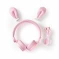Auricular Nedis Animaticks Rabbit Magnetico Pink