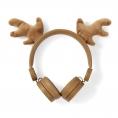 Auricular Nedis Animaticks Reindeer Magnetico Brown
