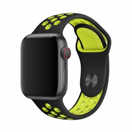 Correa Devia para Apple Watch 44MM Sport Black/Green