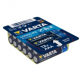 Pila Alcalina Varta Longlife Power BIG BOX Tipo AAA LR03 Pack 12