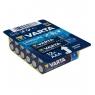 Pila Alcalina Varta Longlife Power BIG BOX Tipo AAA LR03 Pack 12