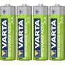 Pila Recargable Varta Power Tipo AA 2600MAH Ready TO USE Pack 4