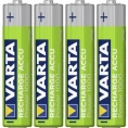 Pila Recargable Varta Power Tipo AAA 1000MAH Ready TO USE Pack 4
