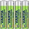 Pila Recargable Varta Power Tipo AAA 550MAH Ready TO USE Pack 4
