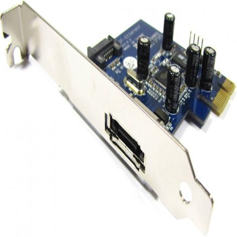 Controladora PCIE Bematik Esata 1P EXT + Sata 1P INT