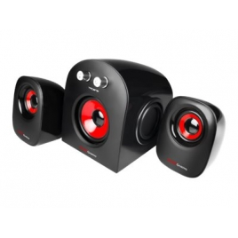 Altavoces Mars Gaming MS2 2.1 20W Black/Red