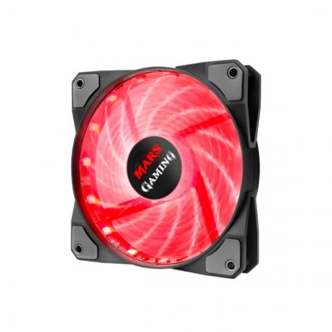 Ventilador 12CM 120X120x25mm Mars Gaming RGB Black