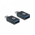 Adaptador Conceptronic OTG USB-C Macho / USB 3.0 Hembra Pack 2U