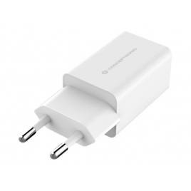 Cargador USB Conceptronic Althea 12W 2Xusb 2.0 White