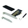 Controladora PCIE Conceptronic SSD M.2 LP + Disipador