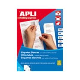 Caja Etiquetas 100H Apli 105X37 01274