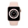 Apple Watch Serie 6 GPS 40MM Gold Aluminium + Correa Sport Pink Sand
