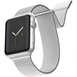 Correa X-DORIA para Apple Watch 42MM Metal Silver