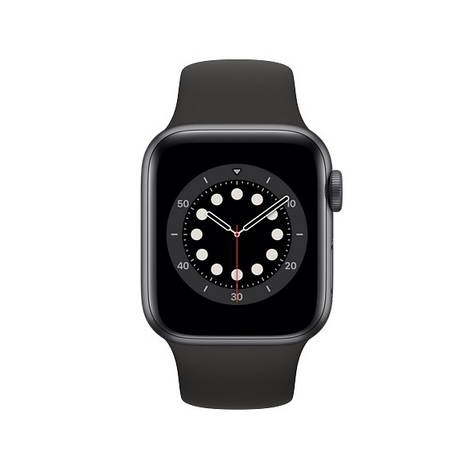 Apple Watch Serie 6 GPS 44MM Space Gray Aluminium + Correa Sport Black