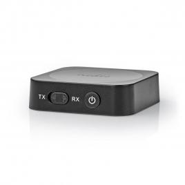 Adaptador Audio Emisor Receptor Bluetooth Nedis Black