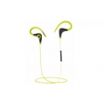 Auricular + MIC Coolbox Coolsport Bluetooth Yellow