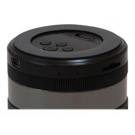 Altavoz Bluetooth Conceptronic Bass Speaker 3W Micro SD Radio Black/Grey