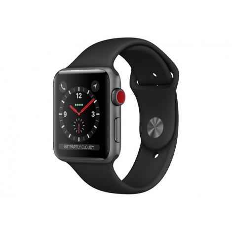 Apple Watch Serie 3 GPS + 4G 42MM Space Grey Aluminium + Correa Sport Black