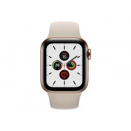 Apple Watch Serie 5 GPS + 4G 40MM Gold Stainless Steel + Correa Sport Stone