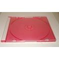 Archivador Caja CD 1 Unidad red Pack 10U