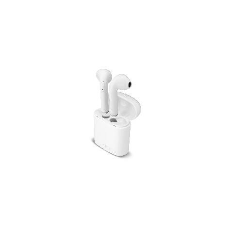 Auricular + MIC Unotec Bluetooth Twin X White